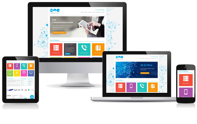 hemsida för företag sitea