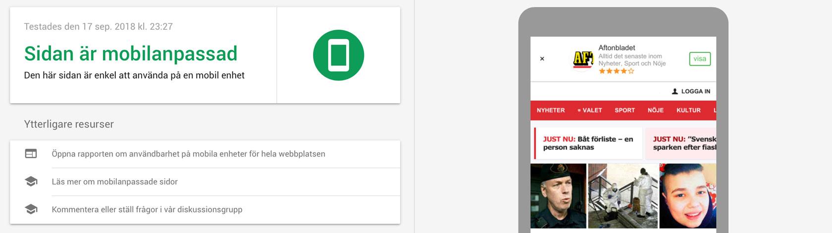 aftonbladet-mobilanpassad-hemsida-Google