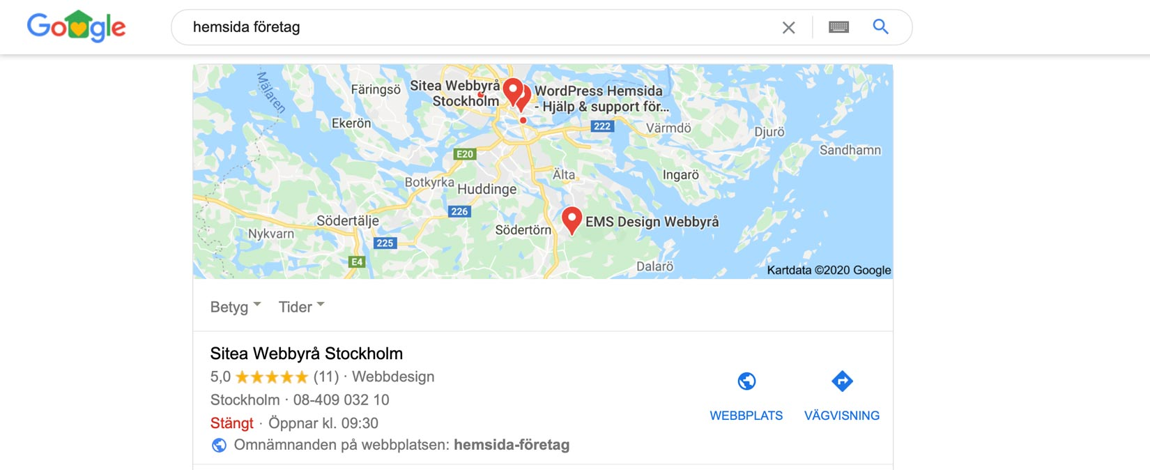 google-my-business-sökfraser
