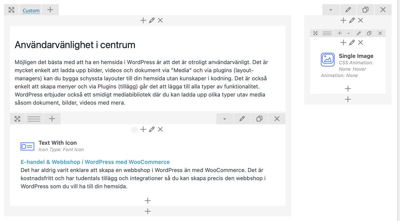 wordpress-hemsida-page-builder